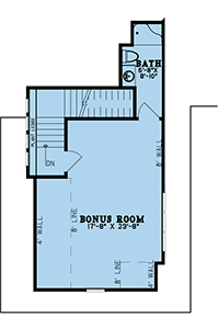 House Plan MEN 5195 Bonus Room