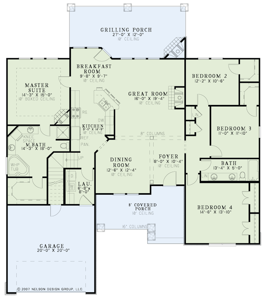 Nelson Design Group House Plan 1219 Martin S Landing Heritage House Plan