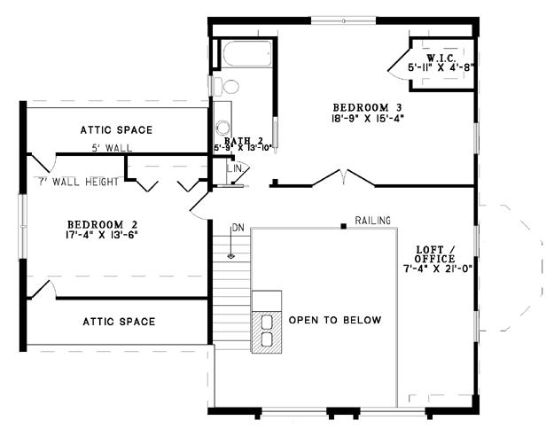 Nelson Design Group House Plan B1012 The Eagle Ridge Ii Barna Log House Plan