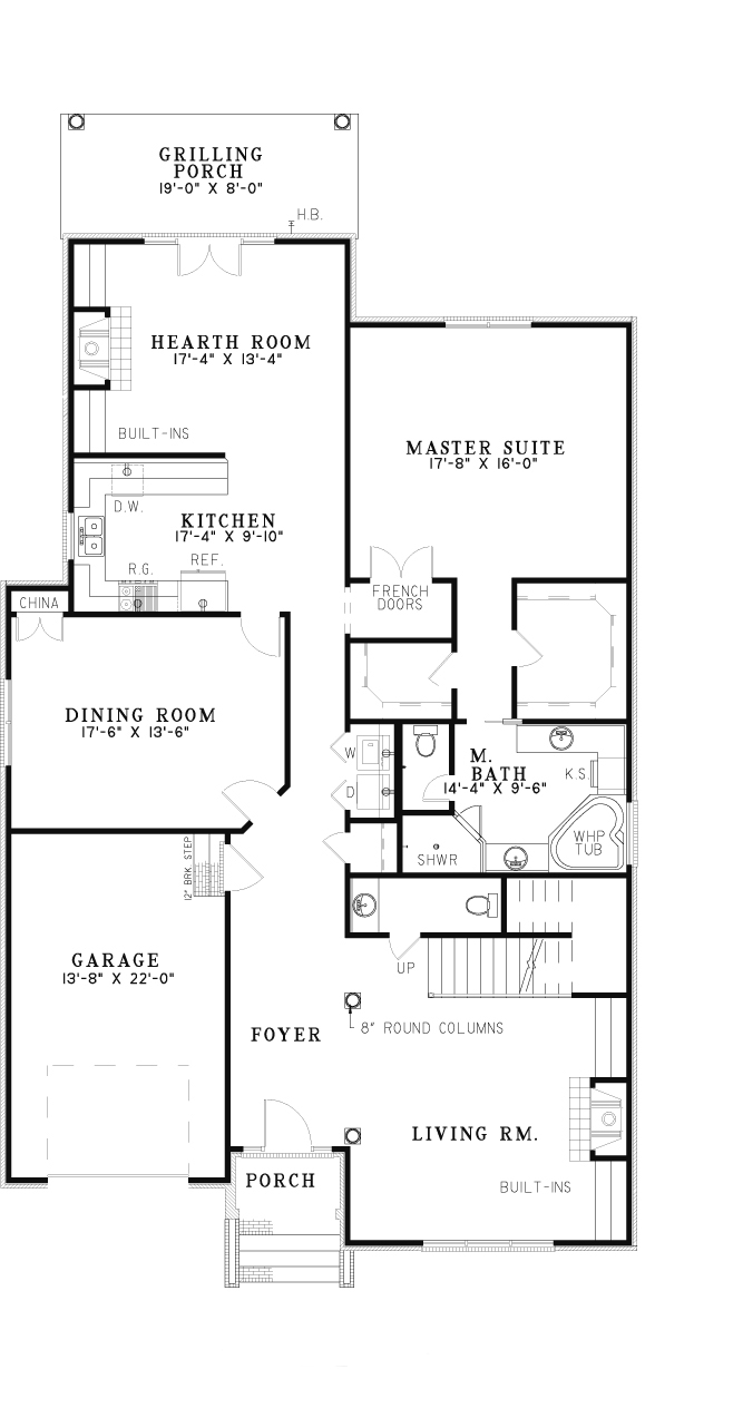 Nelson Design Group › House Plan 8 Aspen Heights, Traditional