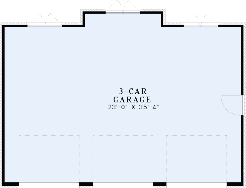 Nelson Design Group › Garage Plan 1490 Florida Drive ...